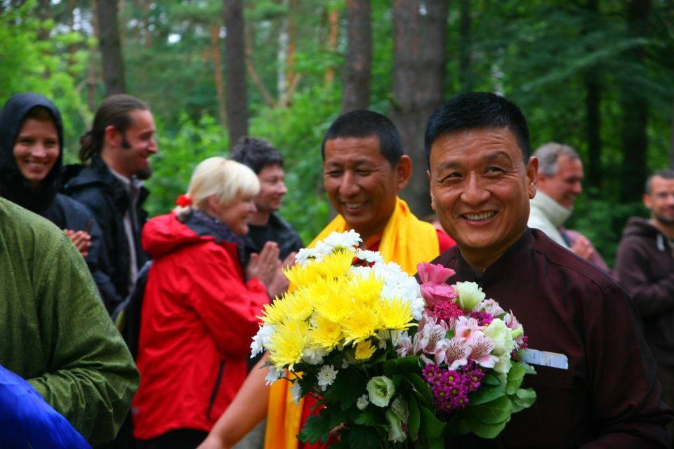 Rinpoche flowers20131