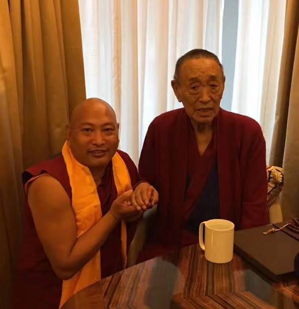 34th Menri Trizin and His Holiness